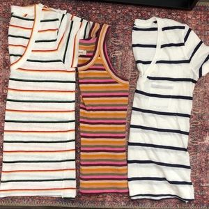 Lot of Three Madewell tops
